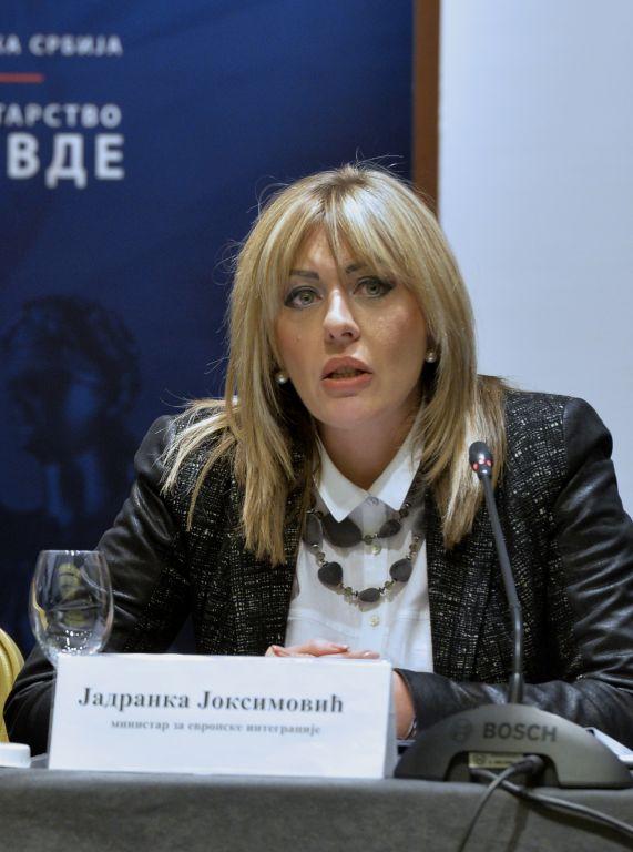 J. Joksimović: Sami smo prepoznali potrebu revizije Akcionog plana za Poglavlje 23 i realističnije postavljenih ciljeva