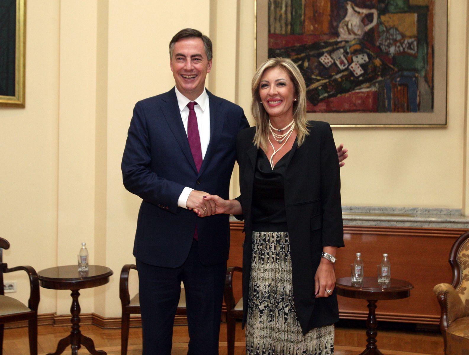 J. Joksimović i Mekalister: Podrška evropskoj budućnosti Srbije