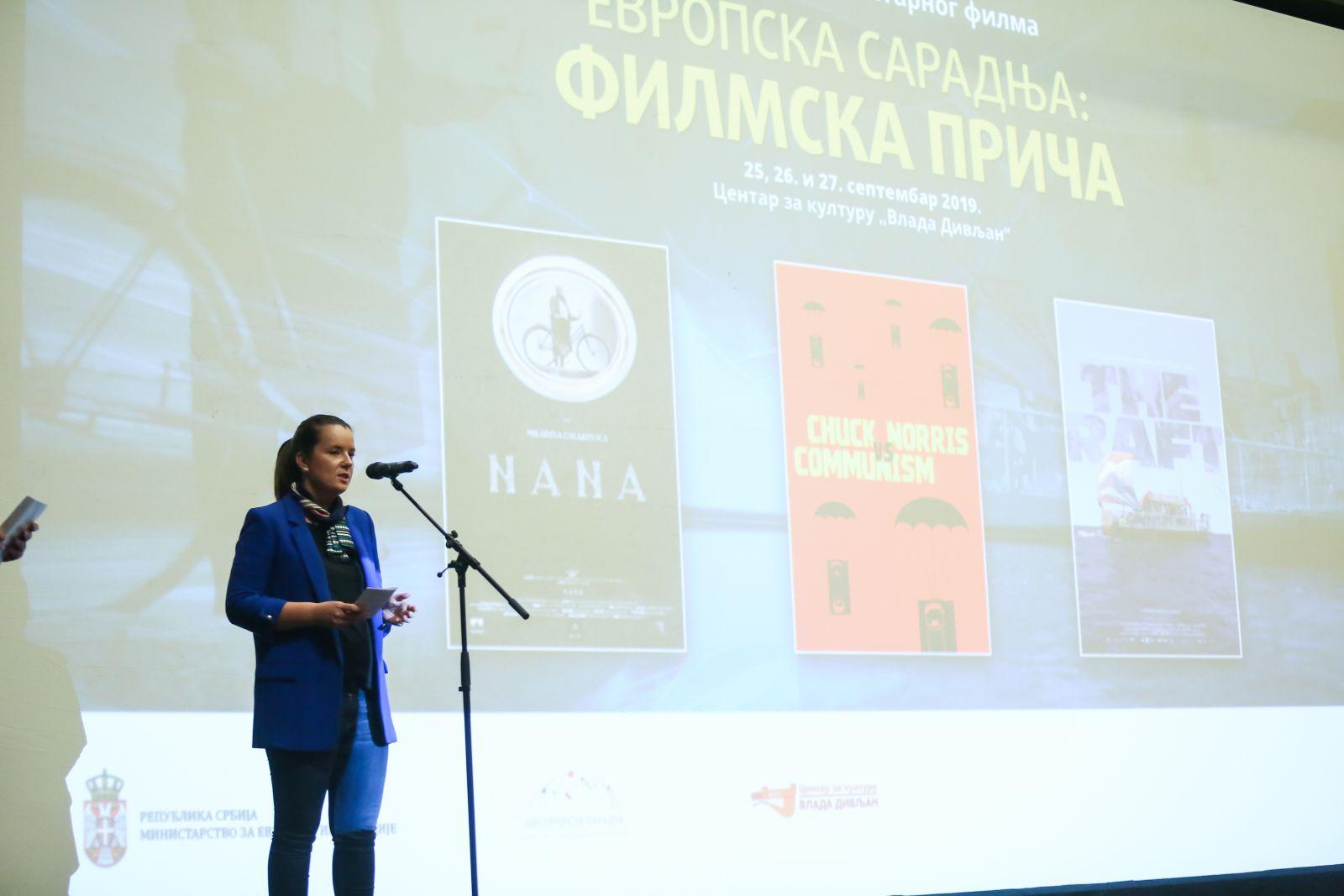 """Film """"Nana"""" otvorio festival """"Evropska saradnja: filmska priča"""""""