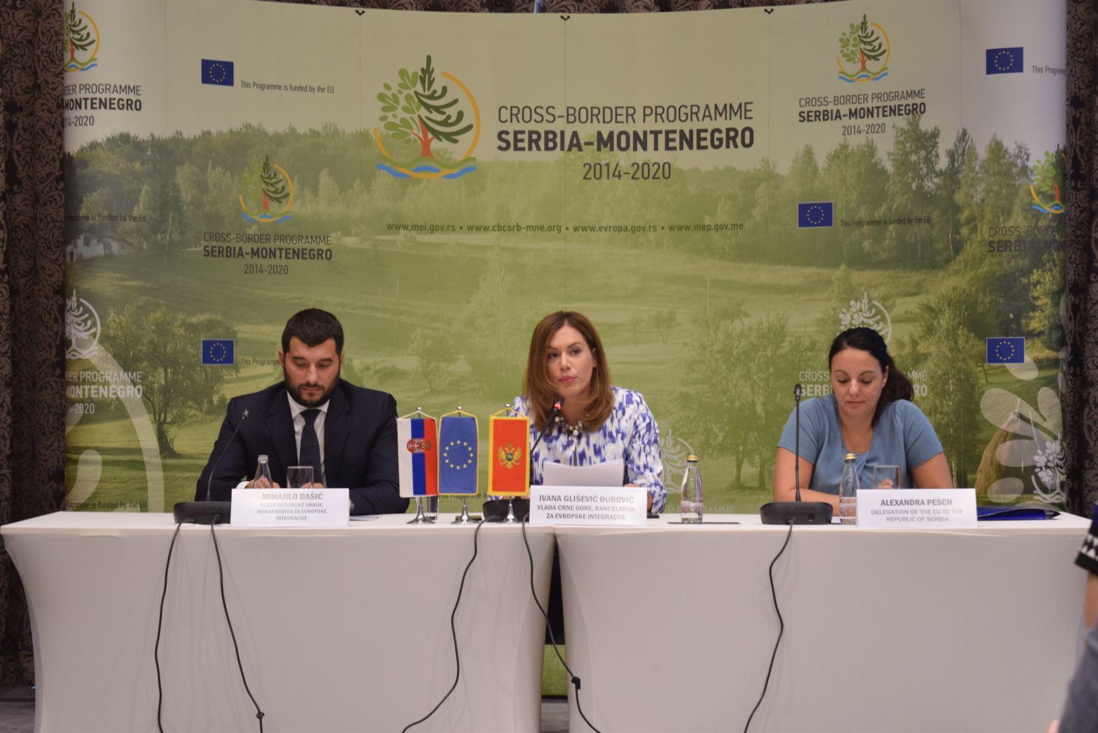 Одржана конференција поводом расписивања Другог позива за подношење предлога пројеката у оквиру ИПА Програма прекограничне сарадње Србија - Црна Гора 2014 - 2020