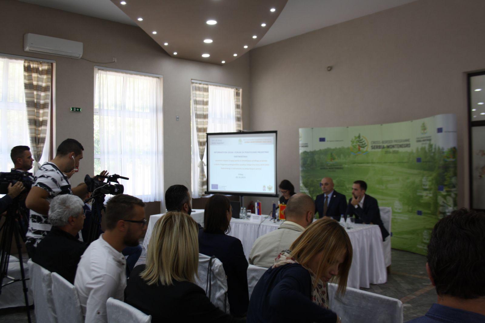 Одржане две нове Инфо сесије ИПА Програма прекограничне сарадње Србија – Црна Гора