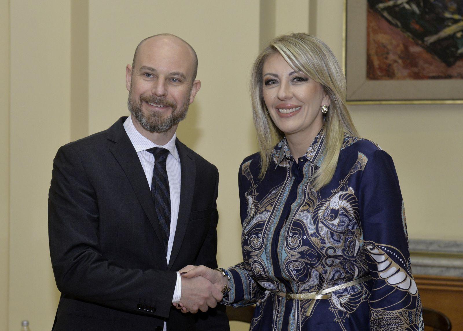Ј. Јоксимовић и Билчик: Србија конструктивно сарађује са Европским парламентом