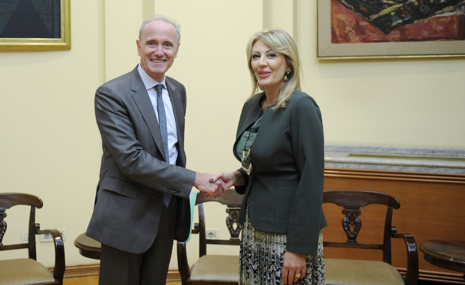 Joksimović and Falconi: France interested in our comments