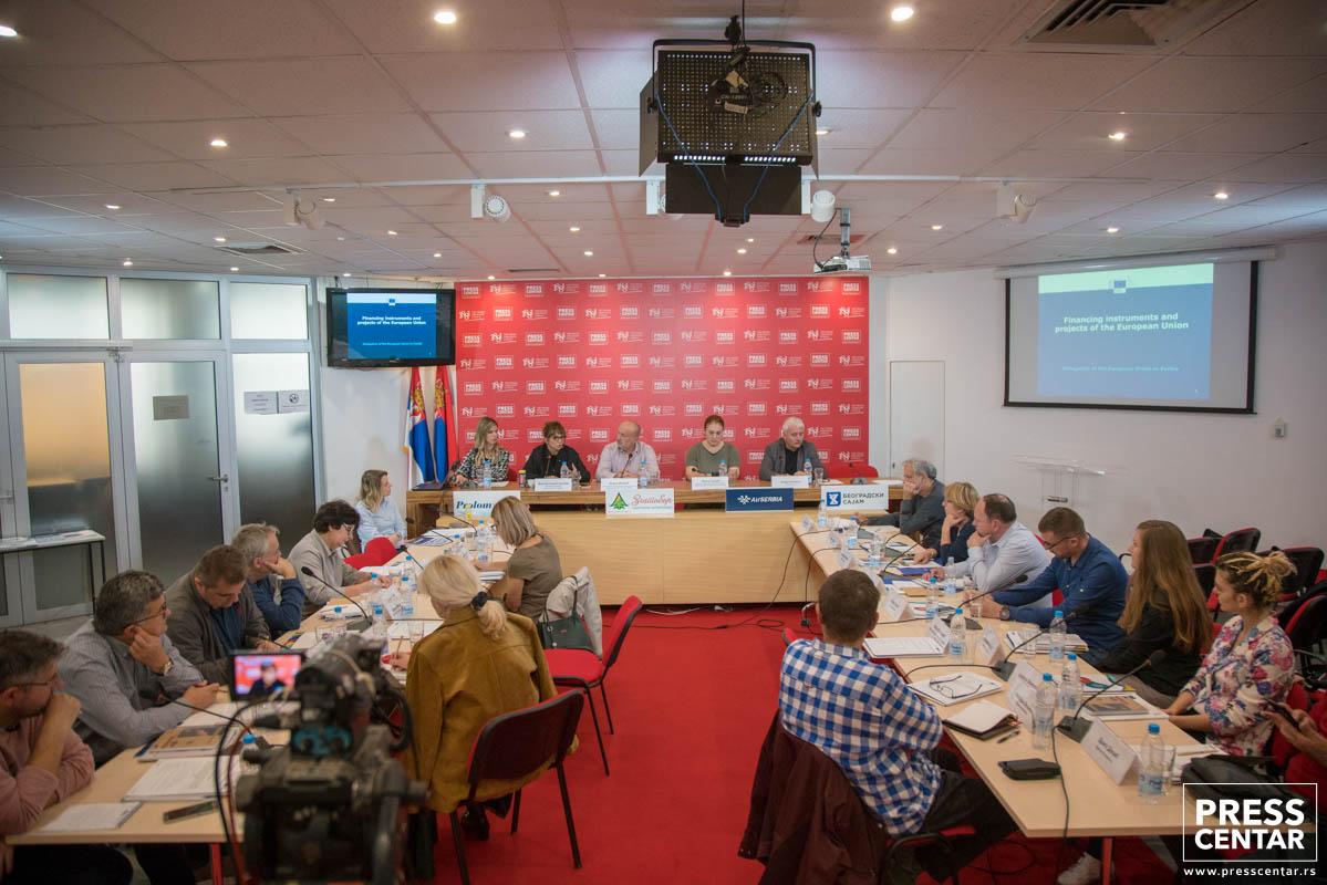 Одржана обука за новинаре о Инструменту за претприступну помоћ