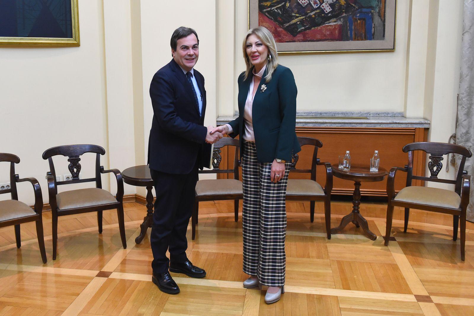 J. Joksimović i Amendola: Italija se zalaže da Srbija što pre postane deo EU