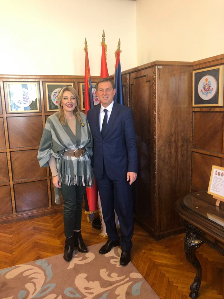 J. Joksimović and Cerar: Slovenia supports the enlargement policy and European integration of Serbia