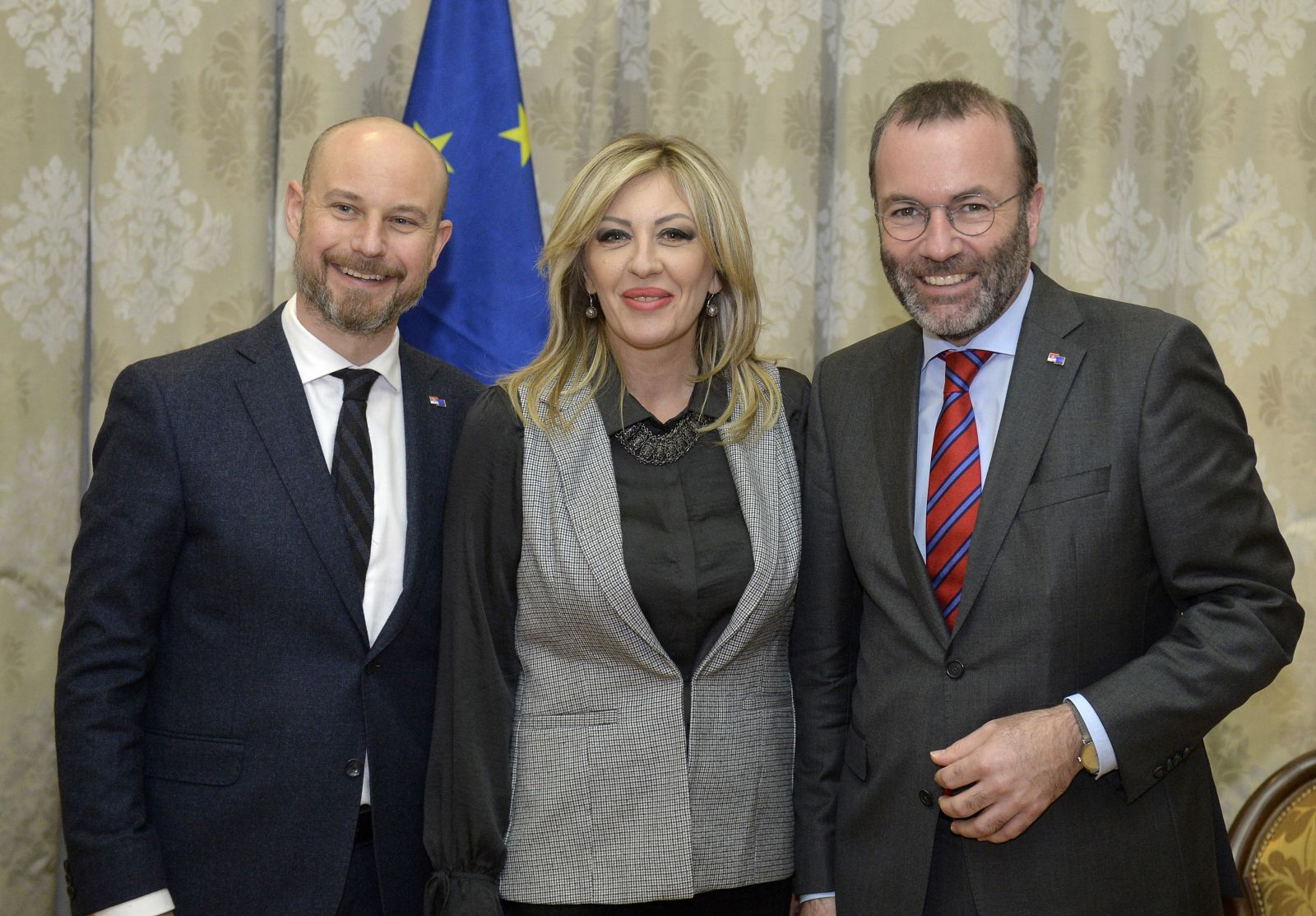 J. Joksimović with the EP Delegation: Serbia - a serious candidate and important partner to the EU