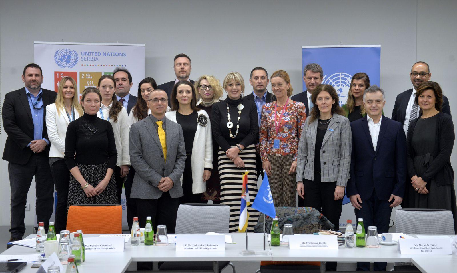 J. Joksimović i Žakob o nastavku razvojne saradnje Srbije i UN agencija