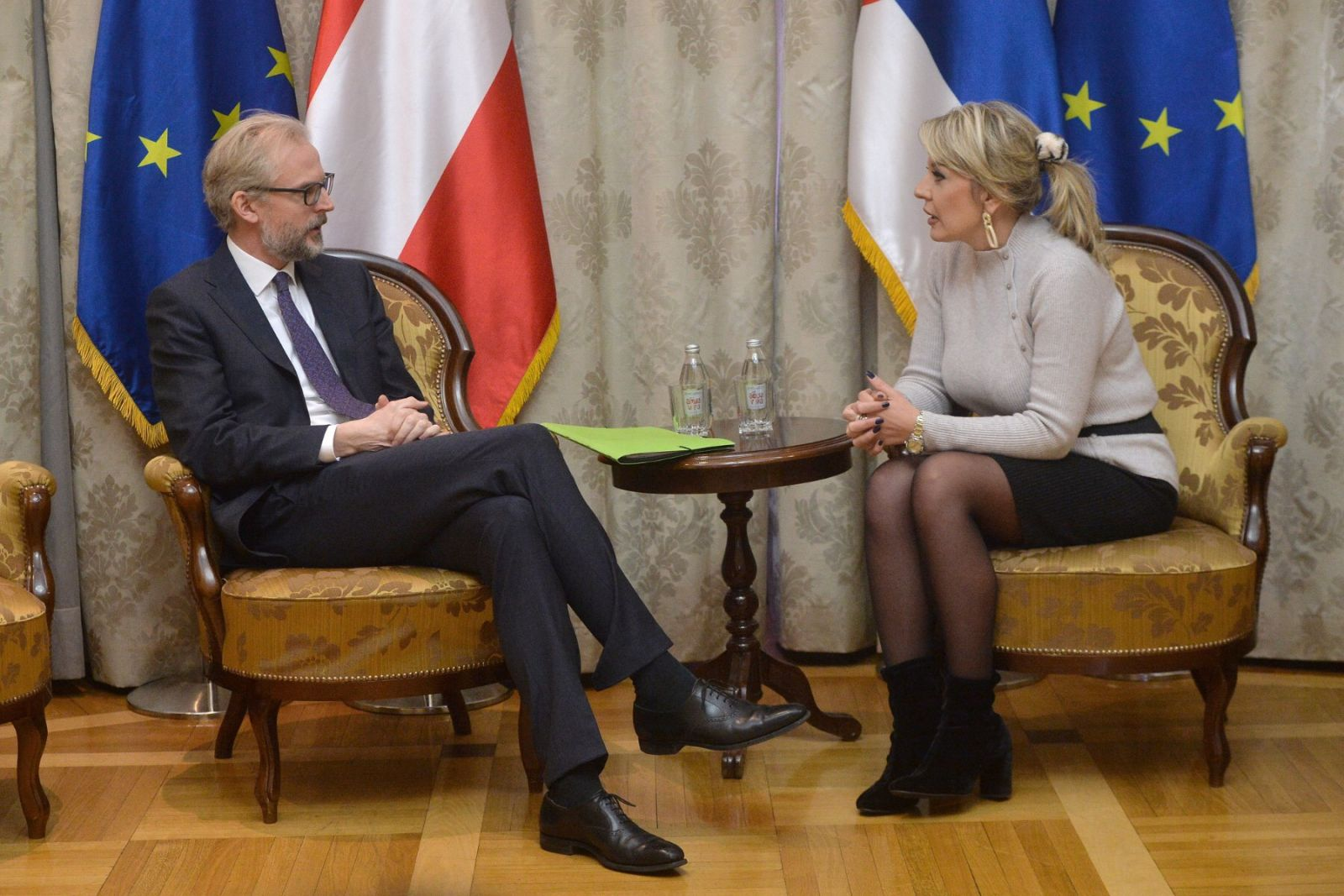 J. Joksimović and Lutterotti: Austria actively supports regional cooperation in the Western Balkans