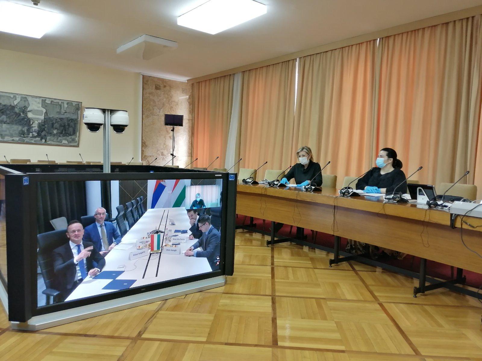 J. Joksimović: Saradnja sa Mađarskom u prevazilaženju posledica COVID19