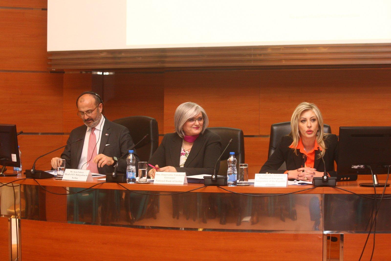Народна банка Србије важна за послове европских интеграција