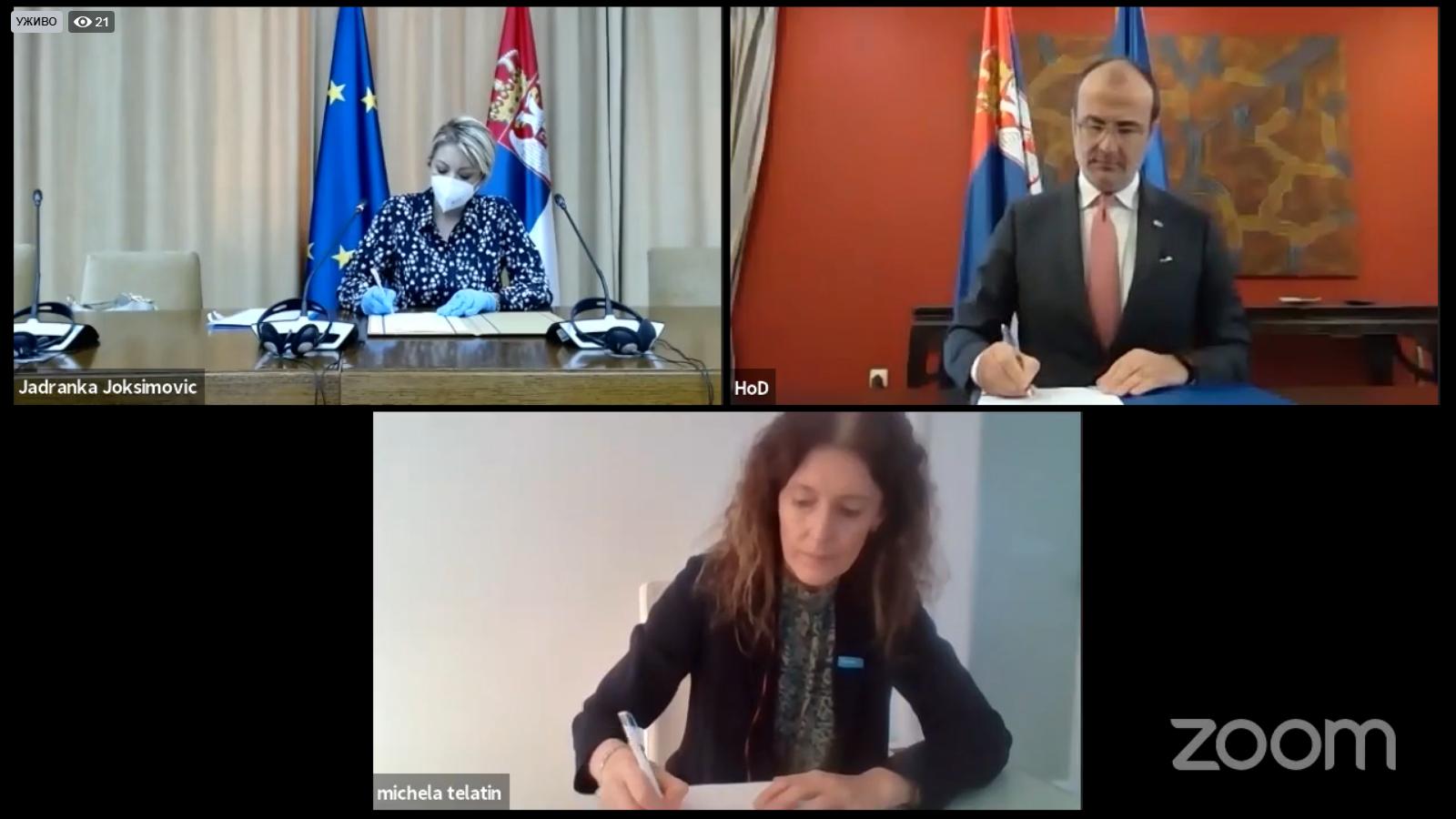 Широм Србије наставља се поставка контејнера за тријажу, које финансира Европска унија