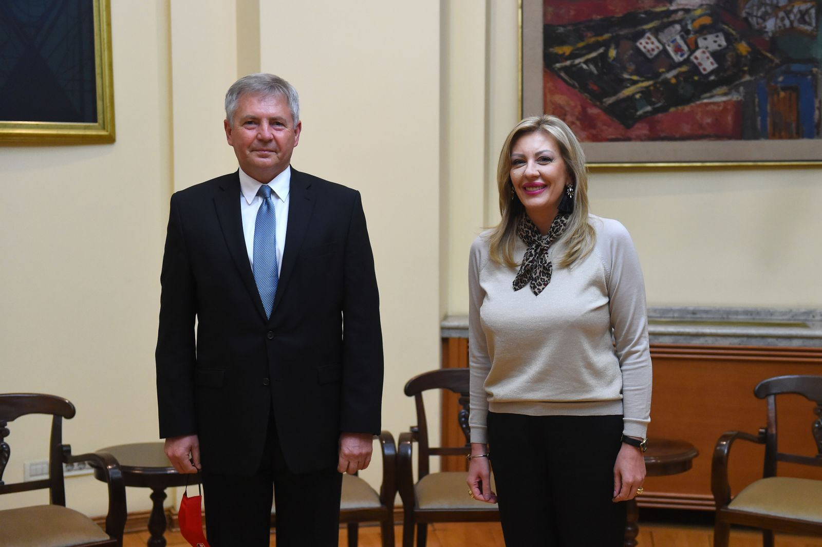 J. Joksimović: Slovakia advocates acceleration of Serbia's European integration