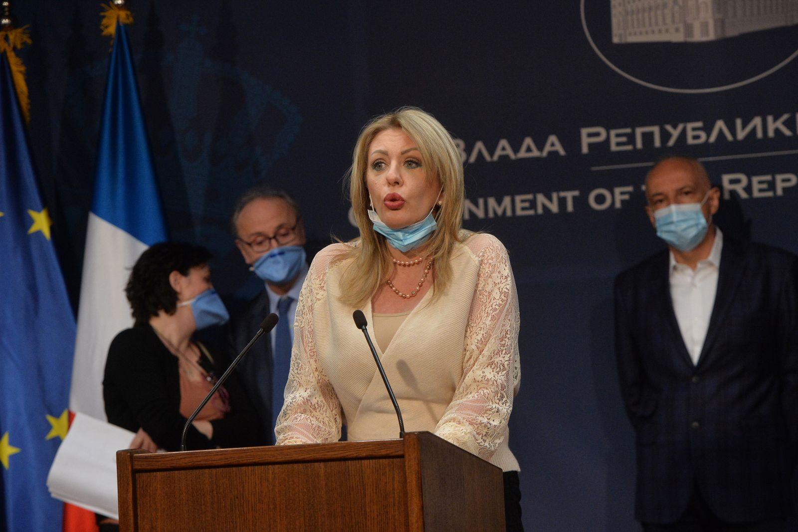 Ј. Јоксимовић: Развојна сарадња са Француском у стратешким областима