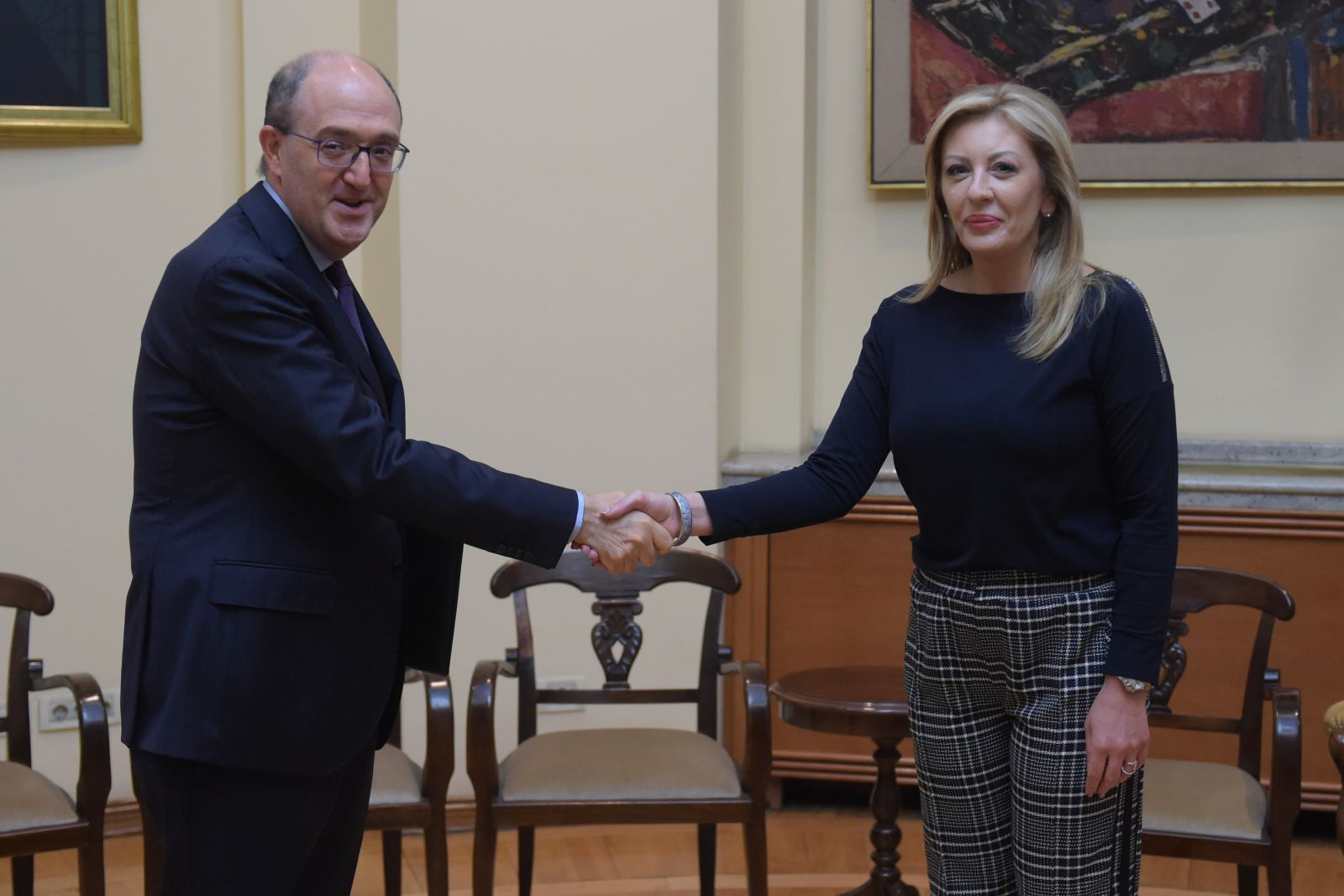 Joksimović and Lo Cascio: Serbia demonstrated solidarity with Italy