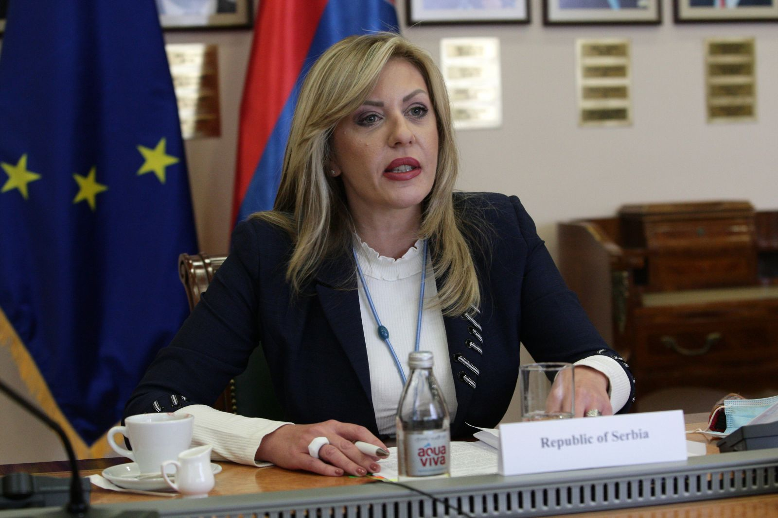 J. Joksimović: EUR 18 million from EU budget support for tackling COVID-19 effects