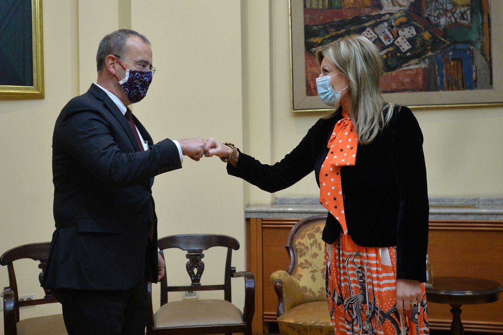 Ј. Јоксимовић: САД активно подржавају реформе и процес ЕИ