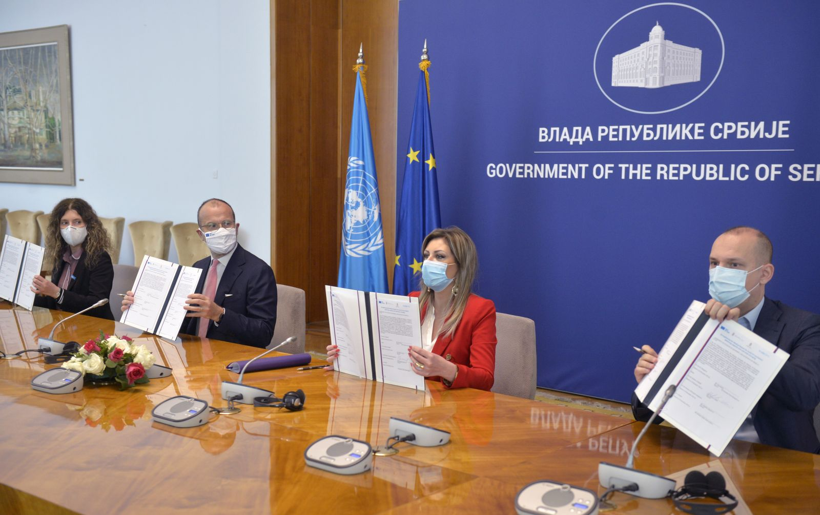 European Union Assistance for Safe Vaccination Process in Serbia
