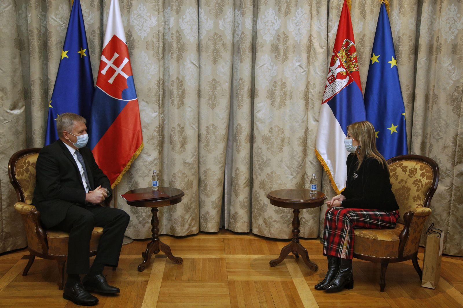 Јоксимовић и Росоха: Словачка пружа значајну експертску помоћ на путу Србије ка ЕУ