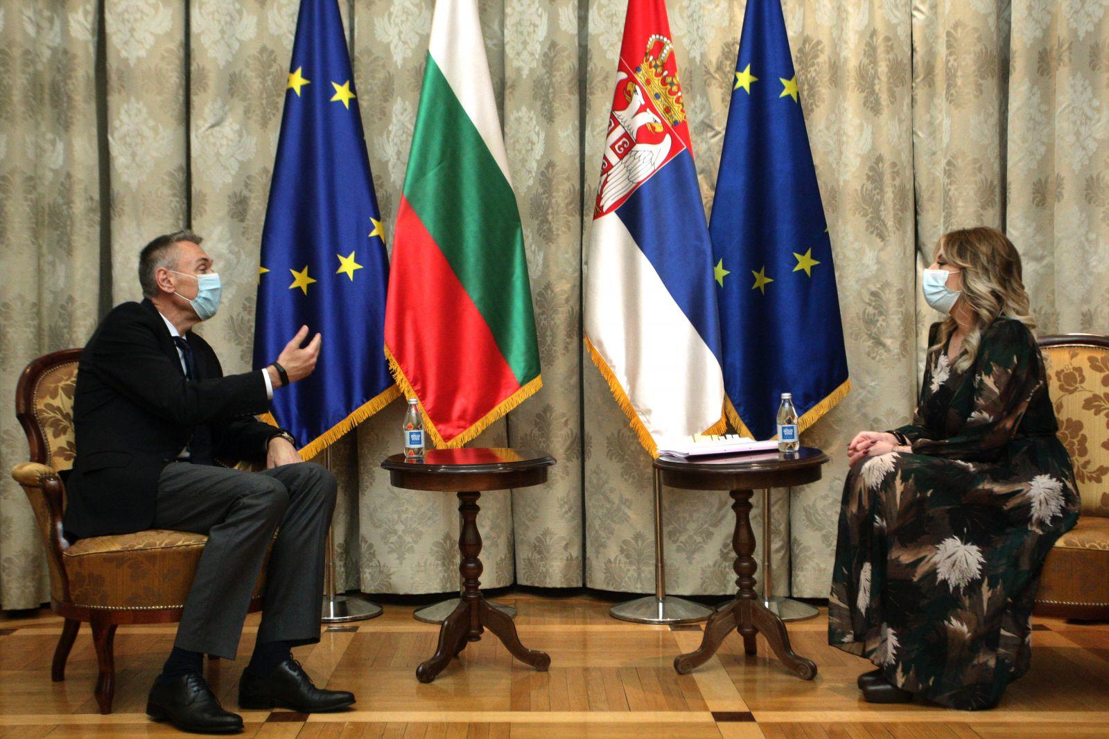 Ј. Јоксимовић: Добри билатерални односи и подршка ЕУ интеграцији