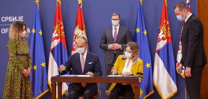 Srbija i EU potpisale novi paket podrške vredan preko 86 miliona evra