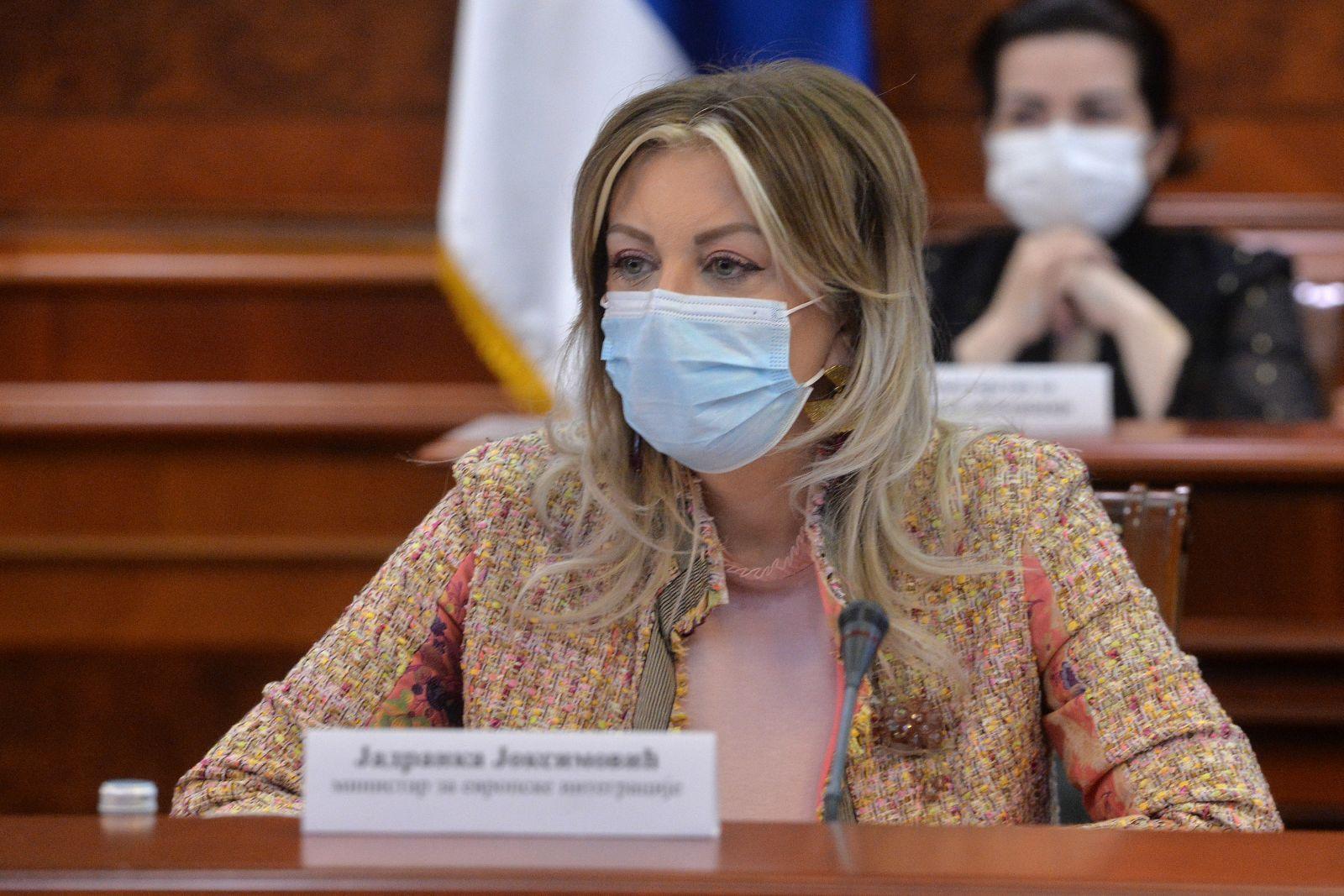 Ј. Јоксимовић: Међувладина конференција до краја јуна