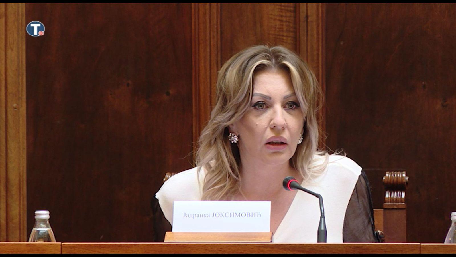 Ј. Јоксимовић: Реформе у области владавине права усклађене са европским праксама