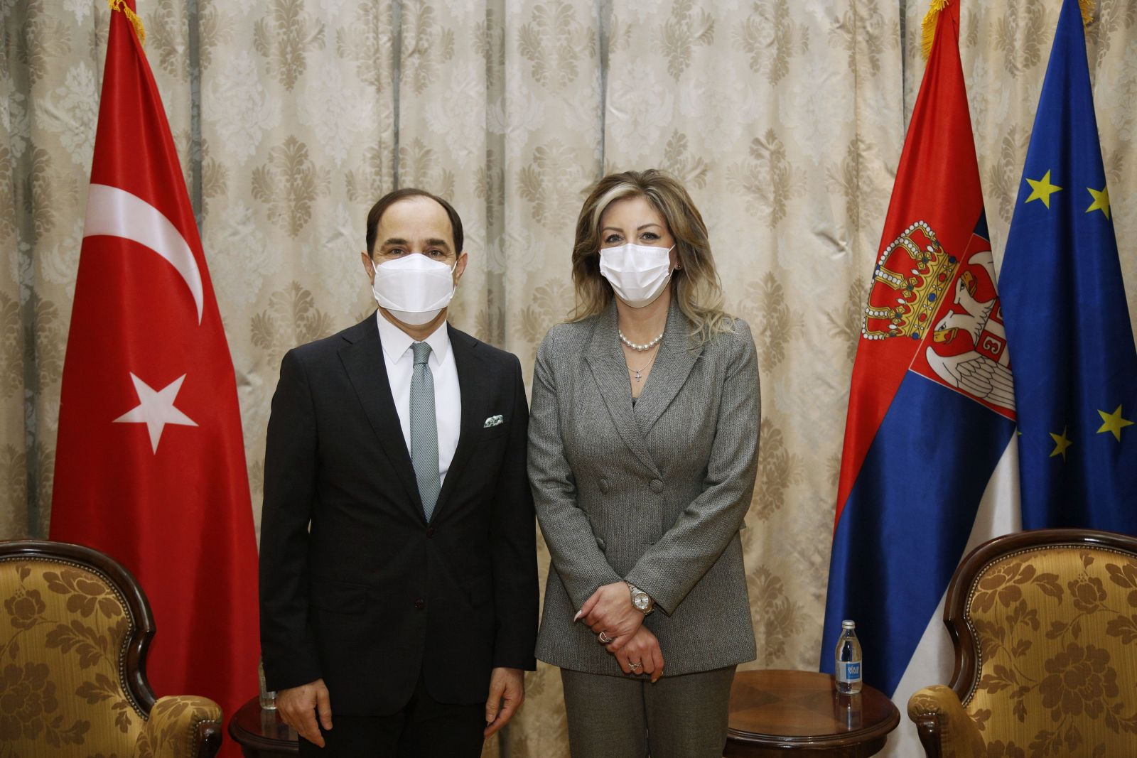 J. Joksimović: Enhanced political and economic relations of Serbia and Turkey