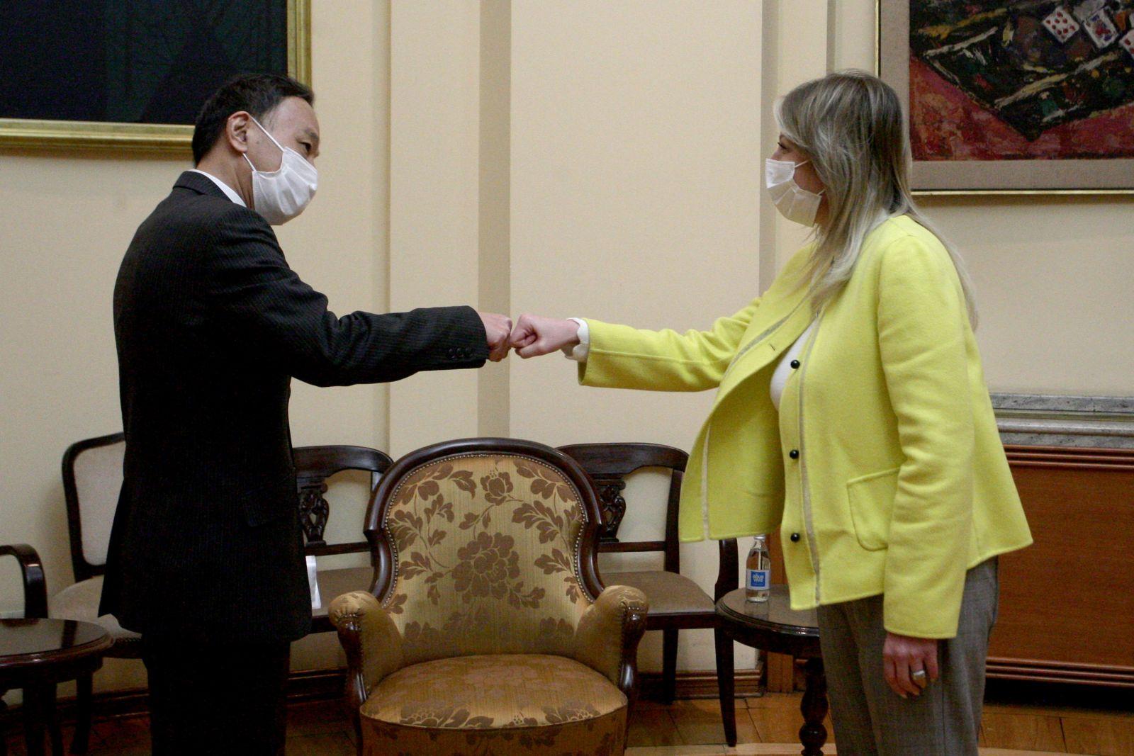 J. Joksimović: Prijateljski odnosi i razvojna saradnja Srbije i Japana