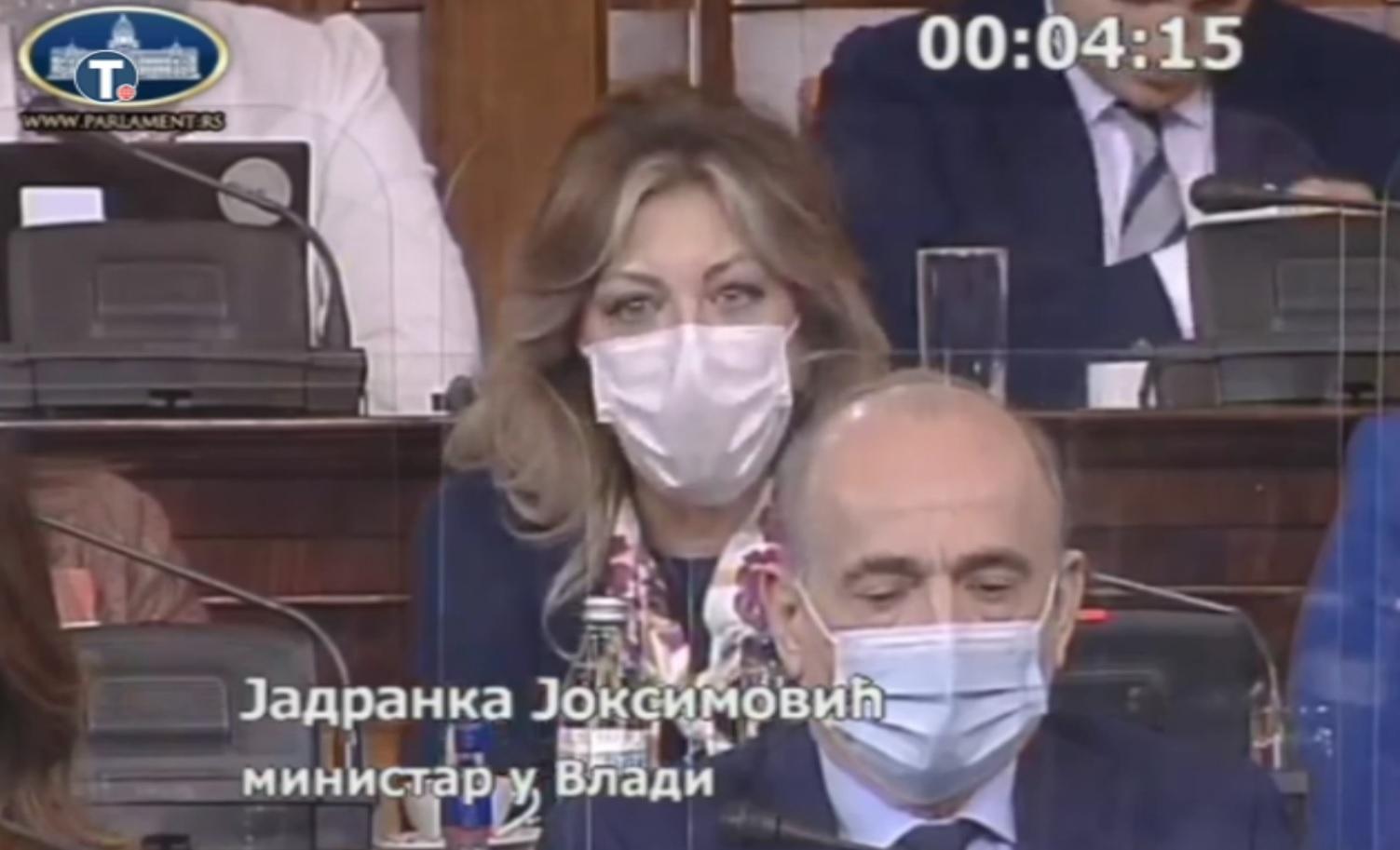J. Joksimović: Rezolucije EP - odraz političkih stavova raznih partija