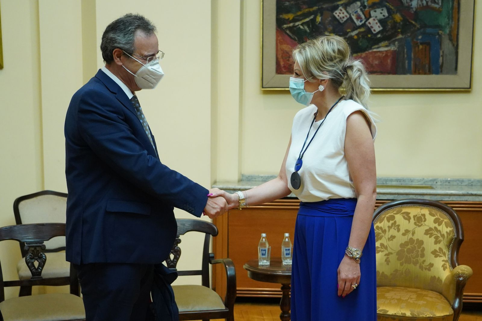 Joksimović and Berger on Serbia's European Integration