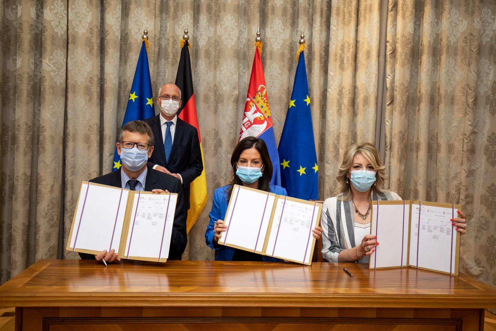 Nemačka daje četiri miliona evra za reformu javne uprave