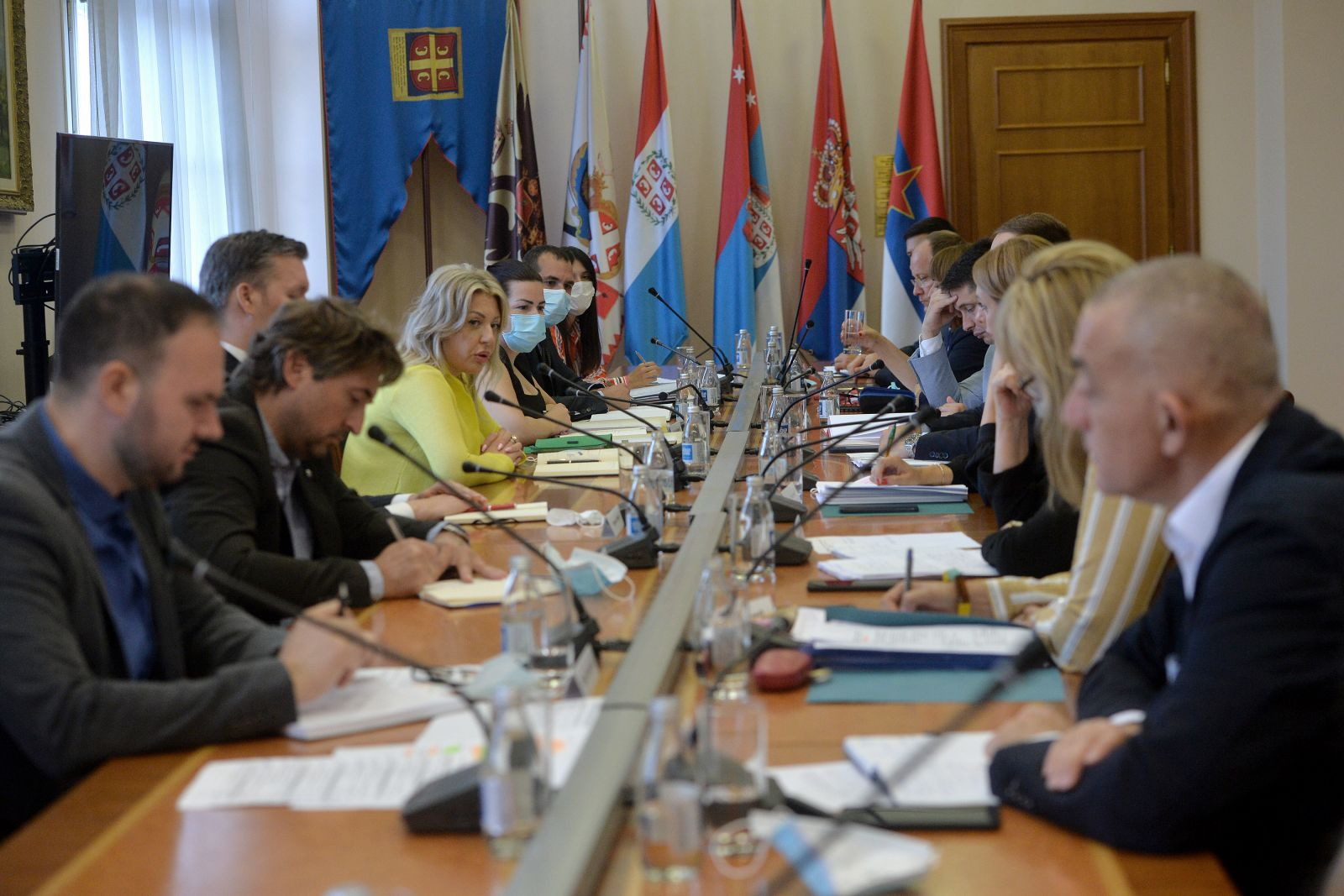 Ј. Јоксимовић: Размотрени приоритети председавања Словеније Саветом ЕУ