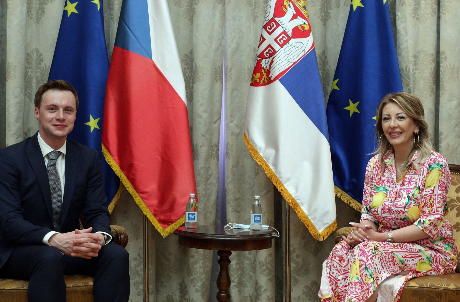 J. Joksimović: Czech Republic is an important partner to Serbia on its EU road