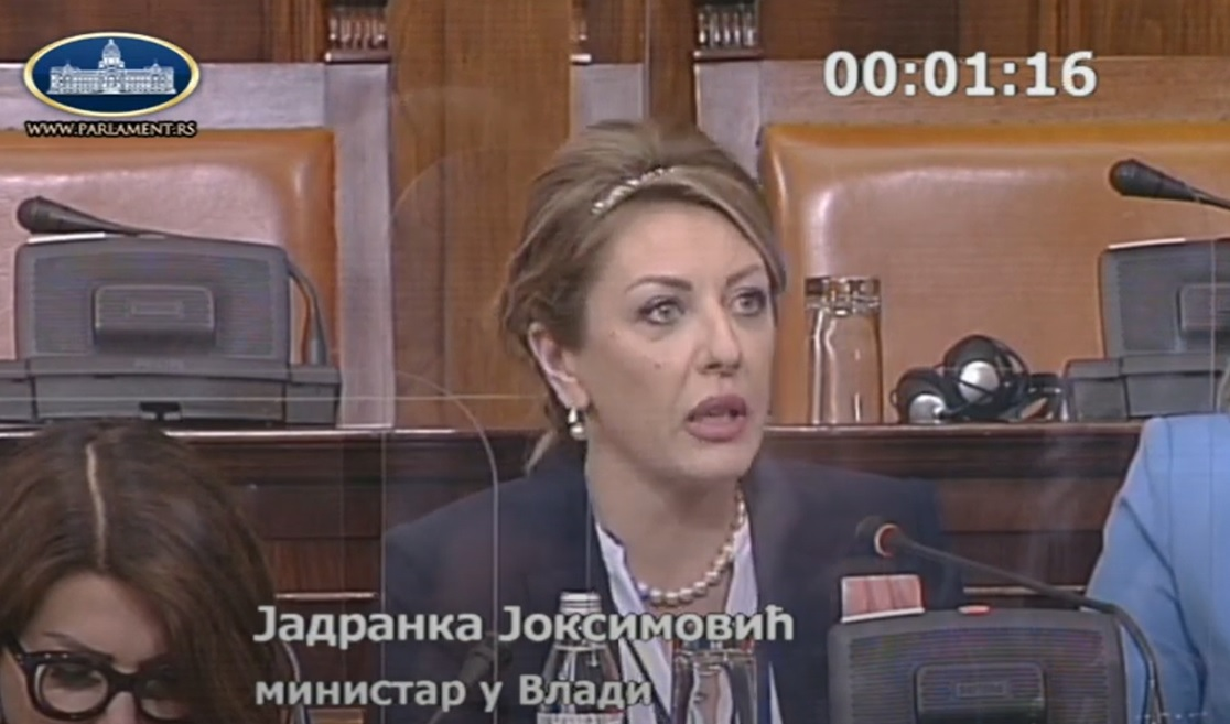 J. Joksimović: Otvaranje Klastera 1 delimično priznanje Srbiji