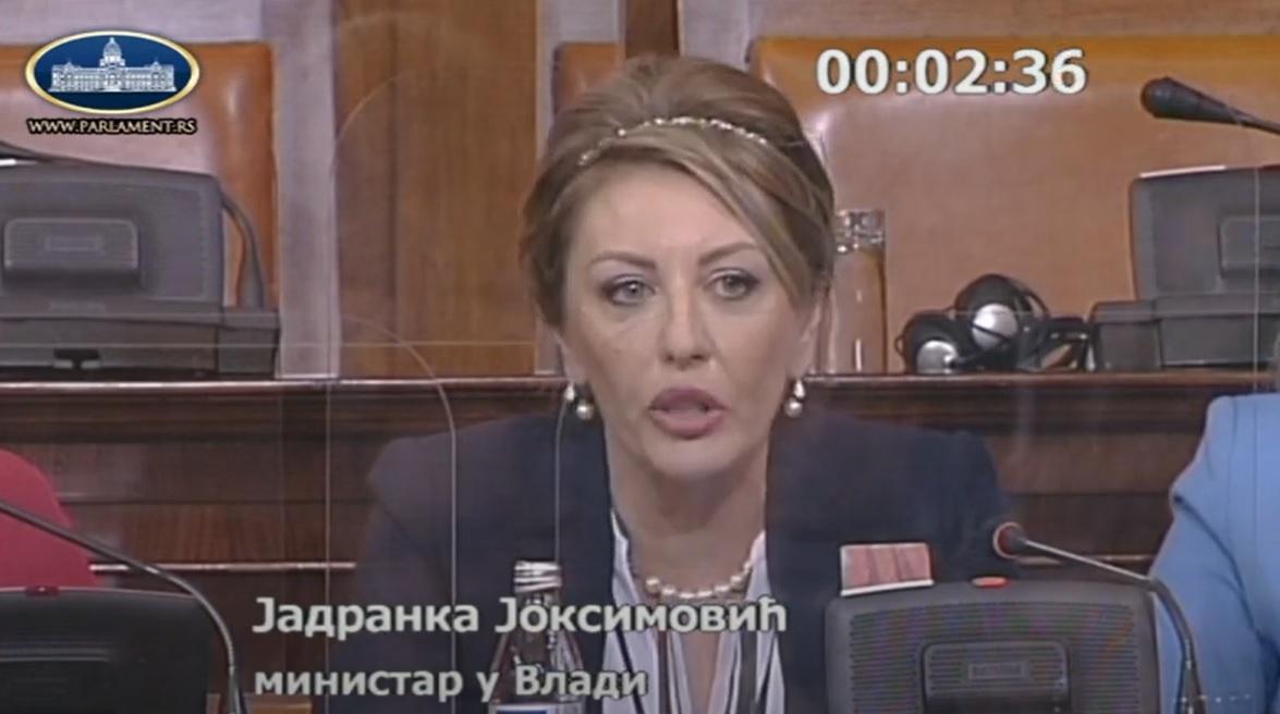 Ј. Јоксимовић: Огроман посао је иза нас и то су сви препознали