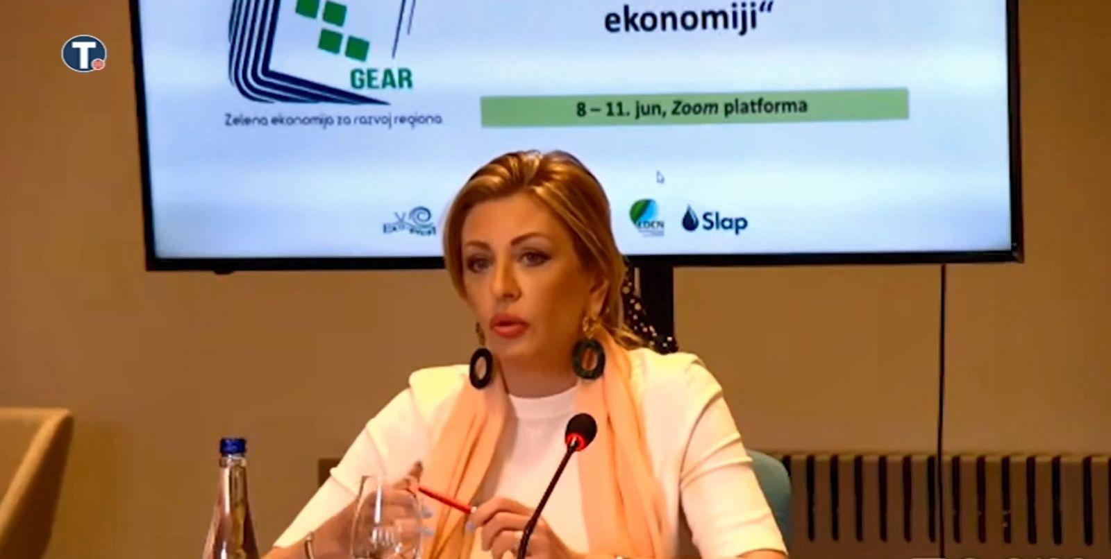 J. Joksimović: Srbija je hrabro ušla u zelenu tranziciju