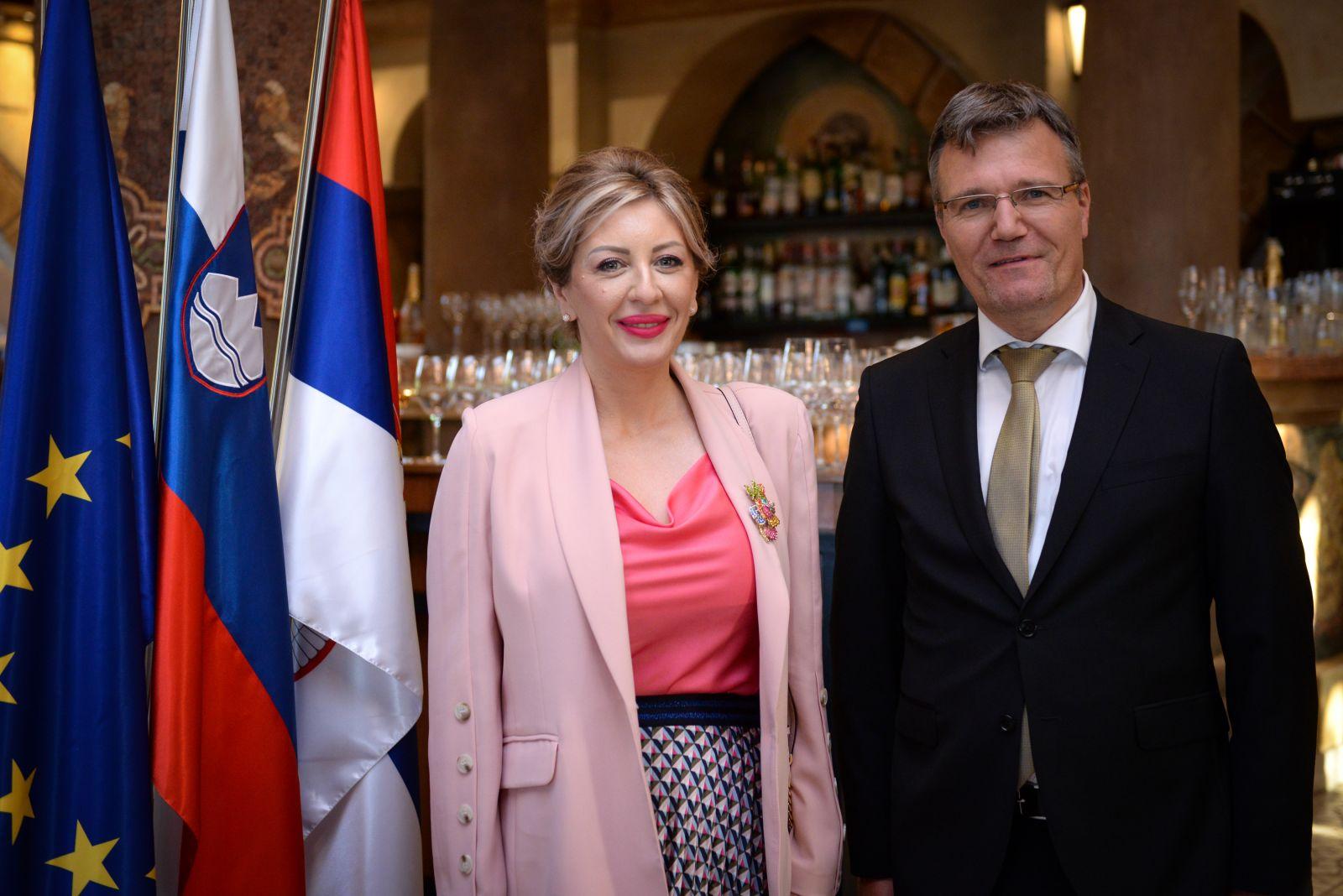 Ј. Јоксимовић: Словенија и Србија усмерене на будућност