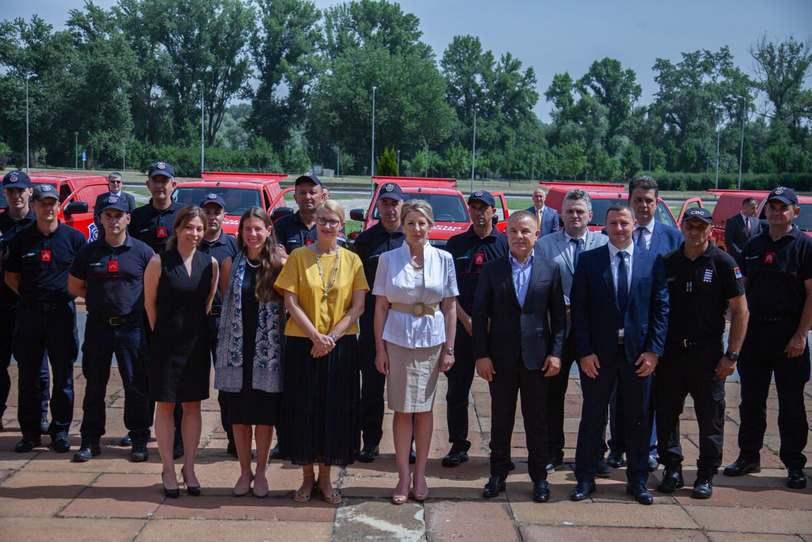 EU provided 27 forest fire-fighting vehicles