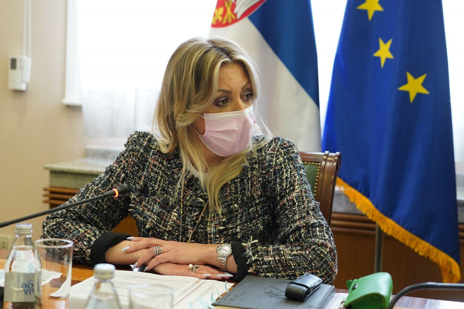 J. Joksimović sa koordinatorima šest pregovaračkih klastera