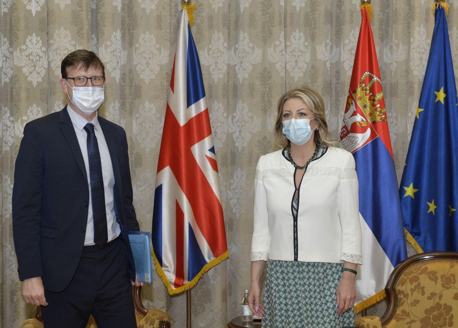 J. Joksimović and Portman: Talks within strategic dialogue