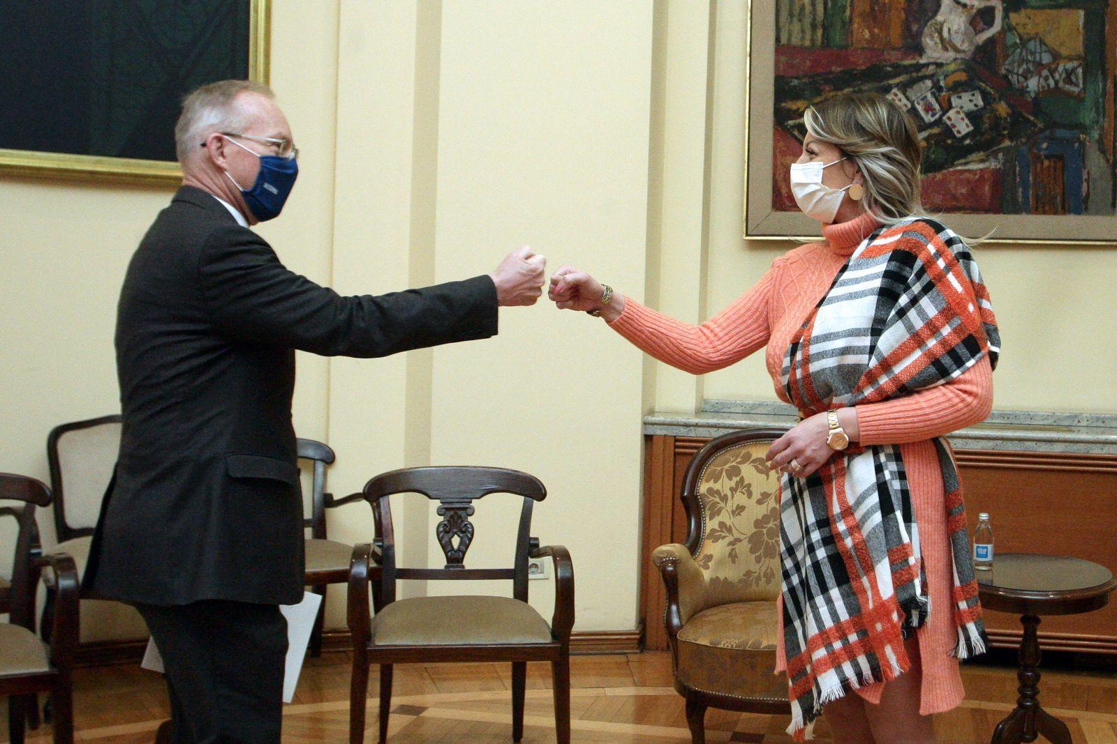 Ј. Јоксимовић: Активна сарадња с ОЕБС-ом у области владавине права