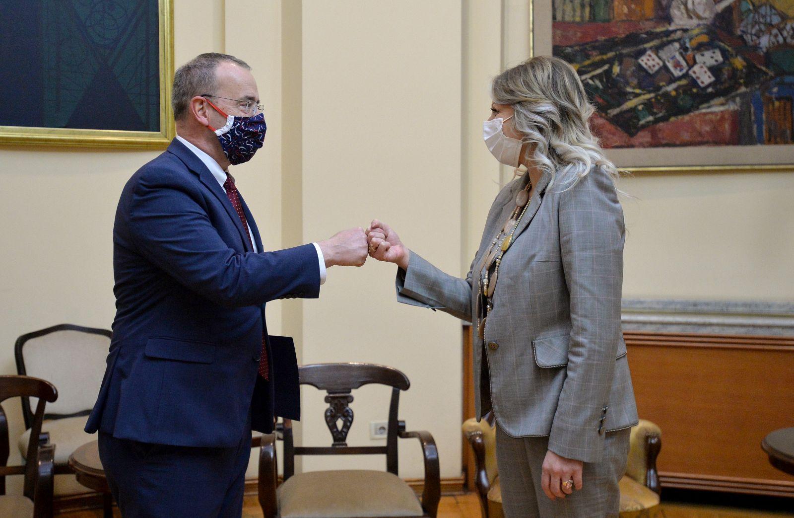 Ј. Јоксимовић: Значајна подршка САД за европску будућност Србије