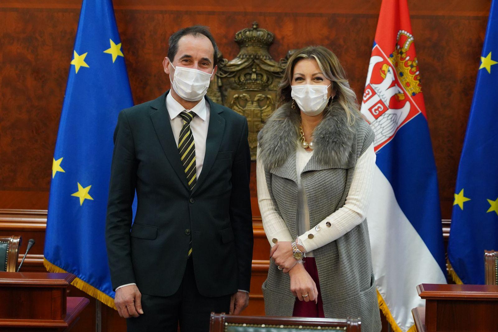 Ј. Јоксимовић: Транзиција енергетског сектора важан део Зеленог договора