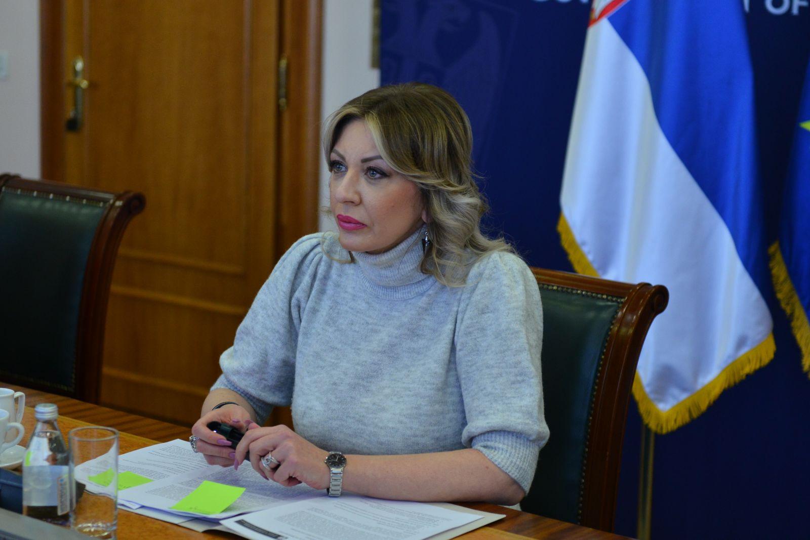 Ј. Јоксимовић на вебинару о Србији Института Клигендал из Хага