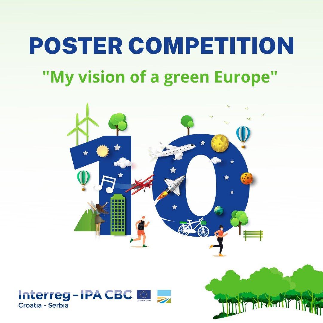 """Be creative and take part in a poster competition on """"My vision of a green Europe"""""""