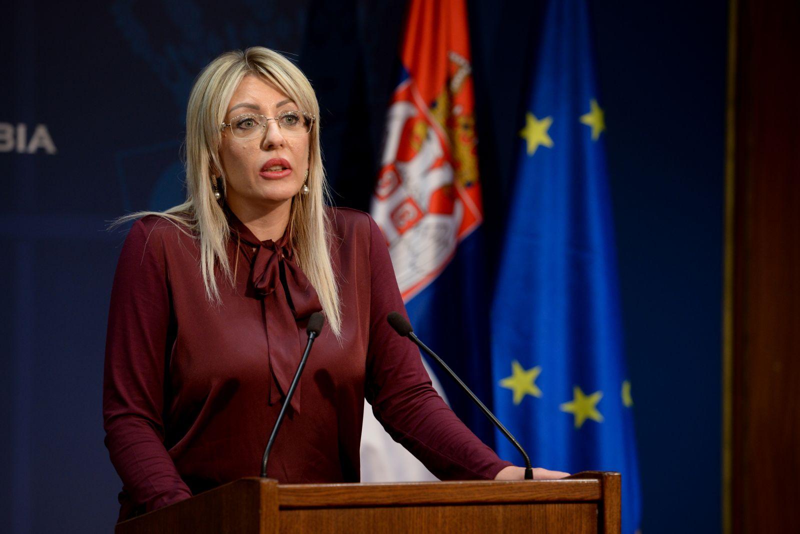 Ј. Јоксимовић: Србији од Немачке 309 милиона евра развојне помоћи