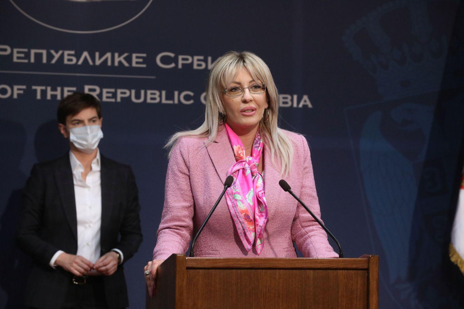 Ј. Јоксимовић: Извештај ЕК објективан, евидентиран напредак у свим областима