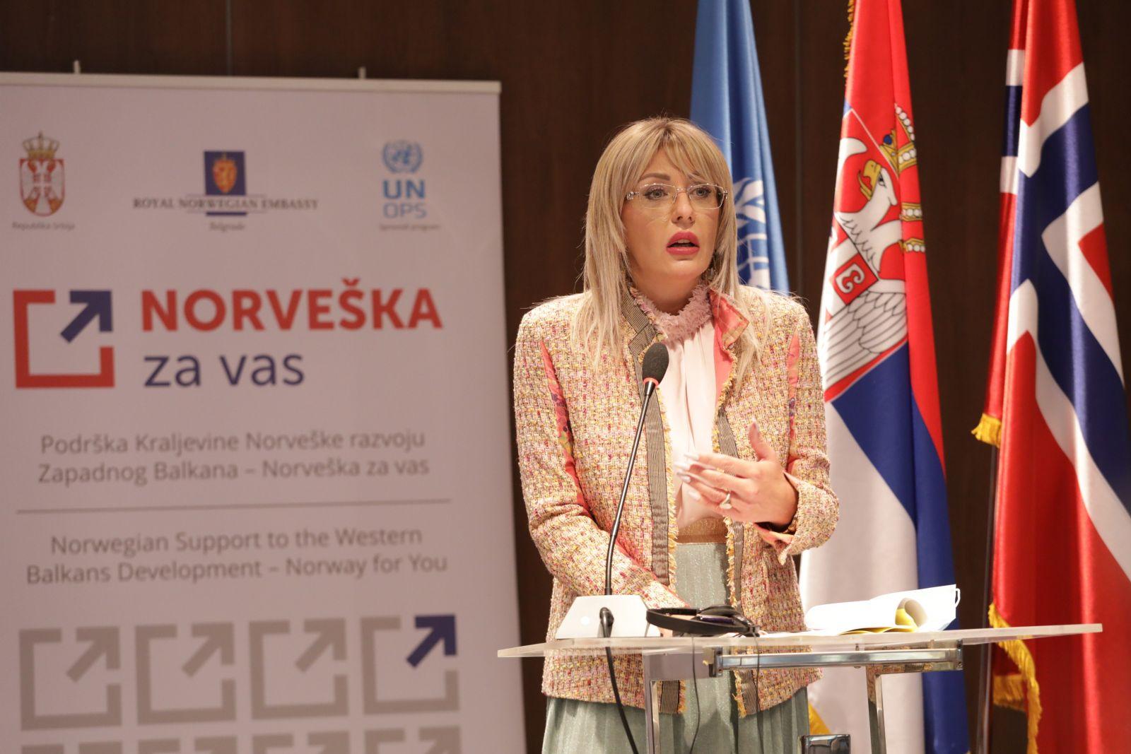 Норвешка помаже равномернијем регионалном развоју Србије