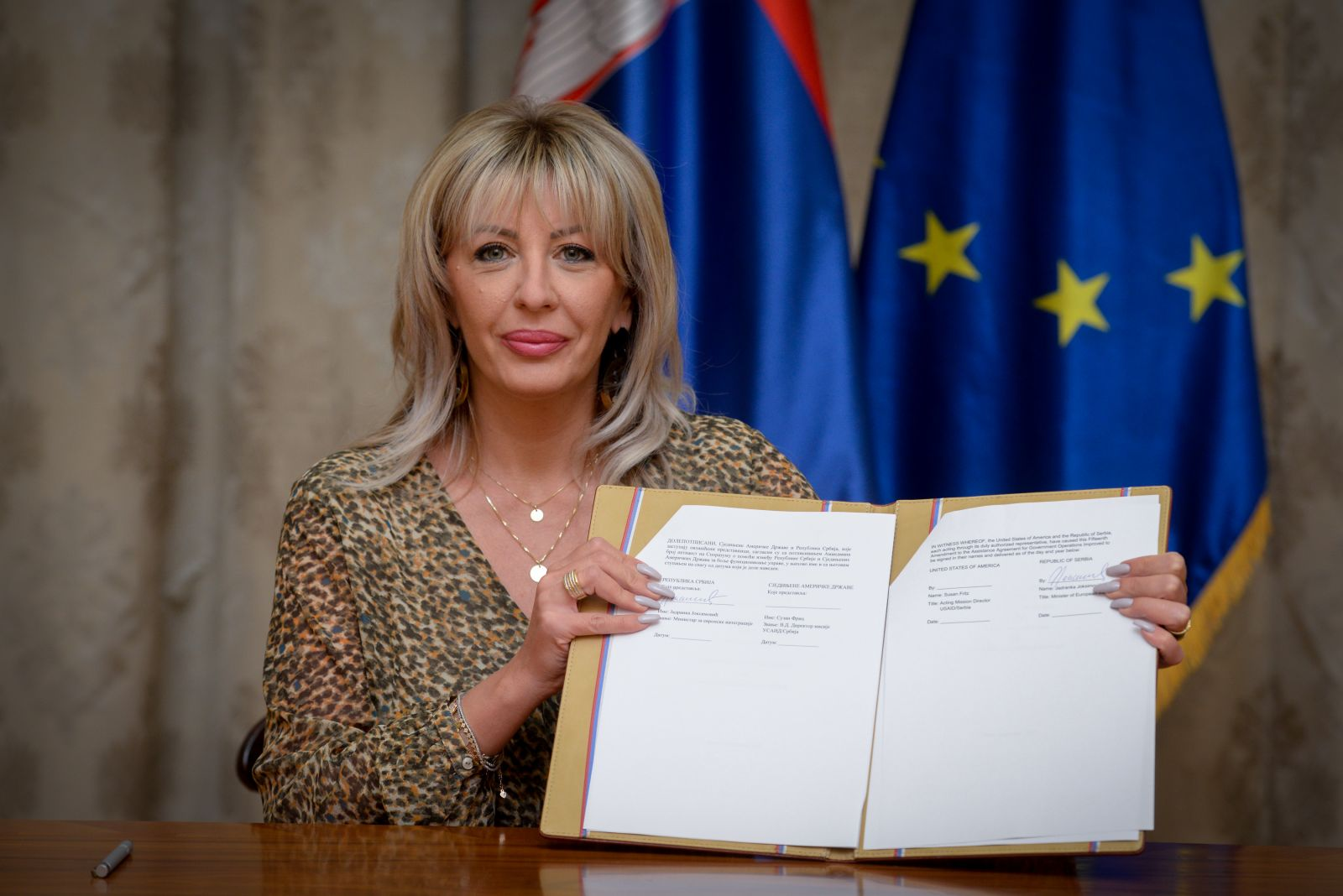 J. Joksimović: Another USD 1.75 million from US for fight against pandemic